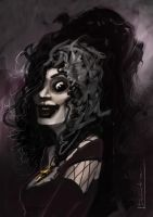 Bellatrix LeStrange Quickie by devowankenobi