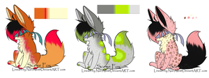 Blind Fox adopt auction OPEN by LaughingOutCryingOut