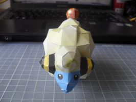Papercraft - Mareep 03 by ckry