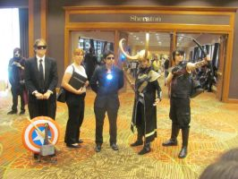 Animfest '12 - The Avengers by TexConChaser