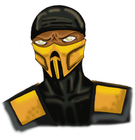 Mortal Kombat Scorpion by child-of-aros