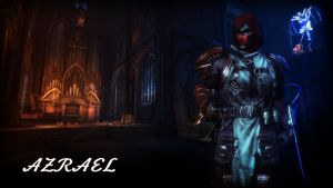 Azrael Wallpaper by BatmanInc