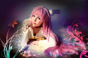Anime Project K - Neko Cosplay - Wallpaper by K-I-M-I