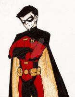 YJI Robin: Tim Drake by artistanything