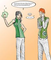 Milagro: Green Lantern Recruit by magickmaker