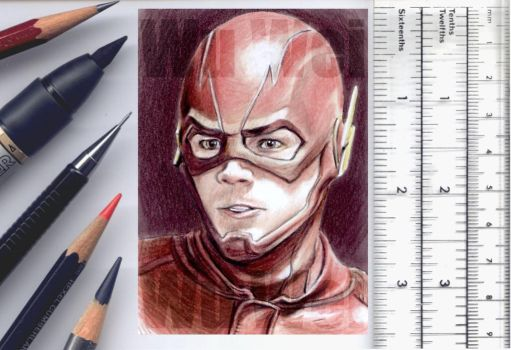 The Flash sketchcard by whu-wei