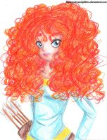 Princess Merida by FlyingCatsandGlitter