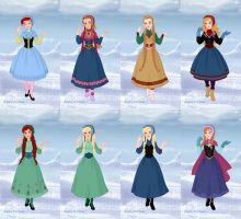 Anna Evolution by LadyAquanine73551