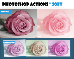 Photoshop Action :: Soft :: Redux by Jiel