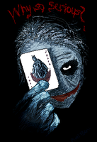Pixel: Why So Serious? by PixelBerii