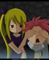 Natsu and Lucy__Fairy Tail 439 by KarenAlvizo
