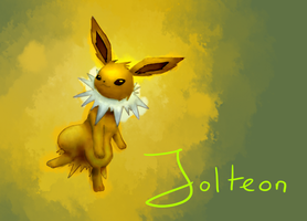 Jolteon by Lin00ne