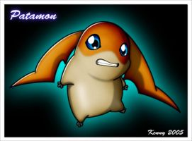 Patamon by Kenny21