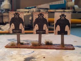 finished shootingrange targets for infinity by timberfox15
