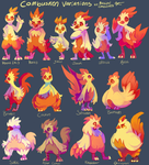 Combusken Variations by MusicalCombusken