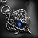 TEHYERIA, Silver and Labradorite. by LUNARIEEN