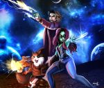 Guardians of the Galaxy by AstuteObservations