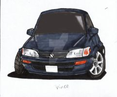 toyota corolla ae101 - vincent by evil-hanzel