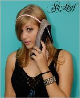 On The Phone by skyleaf