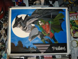 Batman and Robin Step 6 by BroHawk