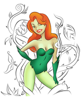 Poison Ivy - 1st version. by andreranulfo