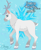 Angel the Reindeer by CherrySapphire