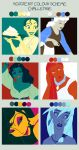 Disney Colour Scheme Meme by HelleeTitch