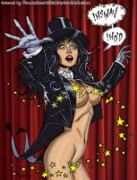 Zatanna 'Vanish' by powerbook125