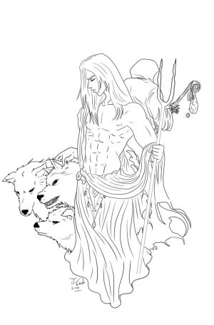 Hades-lineart
