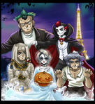 Halloween in Paris by Berylunee