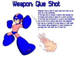 Weapon: Glue Shot by MegaPhilX