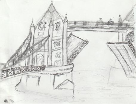 London Tower Bridge by thecanklebandit
