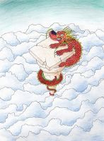 Chinese Dragon by Cuccoteaser