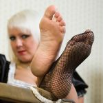 Sexy Maid's Soles by MTL3
