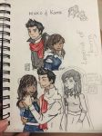 Korra and Mako by gabyjune11