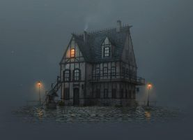 Misty Inn by boc0