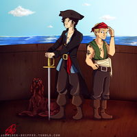 Pirate!Lock by Mariana-S
