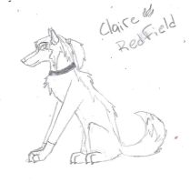 Claire wolf by BrokenKey2235