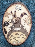 Totoro and Friends by Cyle