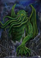 Great Cthulhu by DSBlake