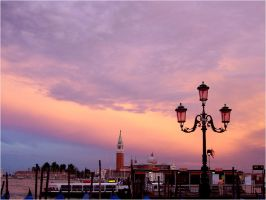 Venice Sunset 2 by YunaHeileen