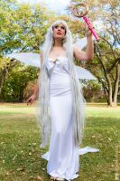 Queen Serenity: In the Gardens of the Moon by Oreparma