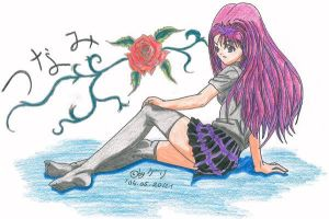 A girl called Tsunami by Quitte87