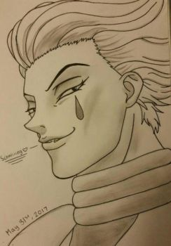 Happy Birthday, Hisoka Morow!  by Jun-Himekawa