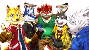 Furry Five by PencilTips
