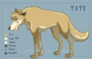 Ice Age Fan-character - Tate by agra19