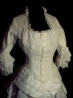 Daae Wedding Dress Bodice by VraiDaae
