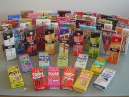 The Depth of a Pocky Addiction by fluffygrimace