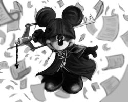 king mickey by ben-adar