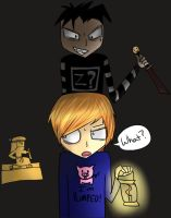 PewDiePie and Johnny by Kitsuna020